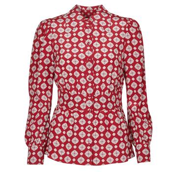 Odjeća Žene  Topovi i bluze MICHAEL Michael Kors LUX PINDOT MED TOP Bordo