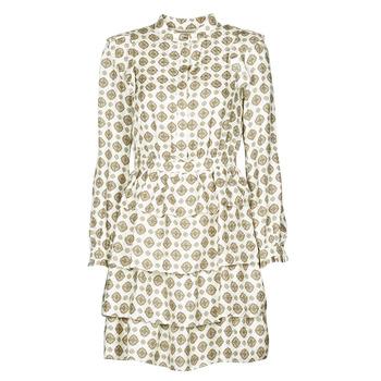Odjeća Žene  Kratke haljine MICHAEL Michael Kors LUX MEDLN PINDOT DRS Bež