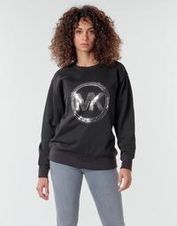 Odjeća Žene  Sportske majice MICHAEL Michael Kors MK CRCL CLSC SWTSHRT Crna