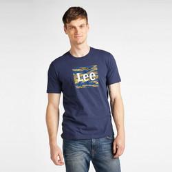 Odjeća Muškarci  Majice kratkih rukava Lee T-shirt  Camo Package Dark Navy bleu marine/jaune/blanc