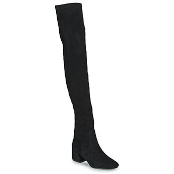 Obuća Žene  Čizme iznad koljena Vanessa Wu CUISSARDES HAUTES Crna