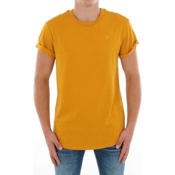 Odjeća Muškarci  Majice kratkih rukava G-Star Raw SHELO R T SS DK GOLD Mostaza