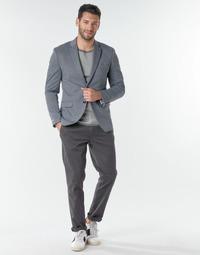 Odjeća Muškarci  Chino hlačei hlače mrkva kroja Selected SLHNEW PARIS Siva