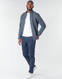 Odjeća Muškarci  Chino hlačei hlače mrkva kroja Selected SLHNEW PARIS Blue