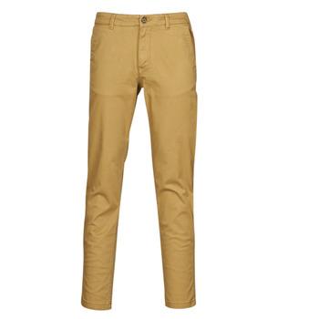 Odjeća Muškarci  Chino hlačei hlače mrkva kroja Selected SLHNEW PARIS Camel