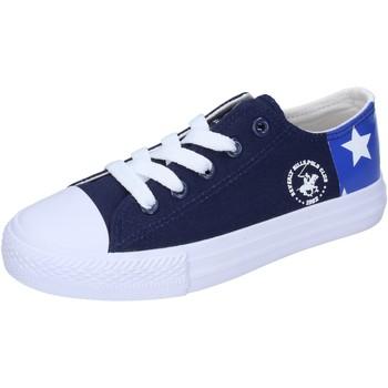 Obuća Dječak  Niske tenisice Beverly Hills Polo Club sneakers tela Blu