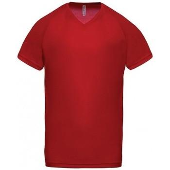 Odjeća Muškarci  Majice kratkih rukava Proact T-Shirt Col V  Sport rouge