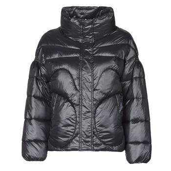 Odjeća Žene  Pernate jakne Moony Mood NAZA Crna