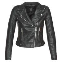 Odjeća Žene  Kožne i sintetičke jakne Vero Moda VMKERRIULTRA Crna