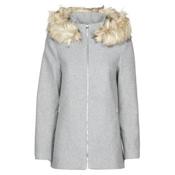 Odjeća Žene  Kaputi Vero Moda VMCOLLARYORK Siva