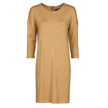Odjeća Žene  Kratke haljine Vero Moda VMGLORY Camel