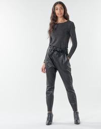 Odjeća Žene  Chino hlačei hlače mrkva kroja Vero Moda VMEVA Crna