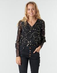 Odjeća Žene  Topovi i bluze Vero Moda VMFEANA Crna