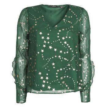 Odjeća Žene  Topovi i bluze Vero Moda VMFEANA Zelena