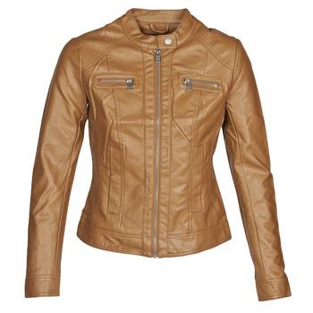 Odjeća Žene  Kožne i sintetičke jakne Only ONLBANDIT Boja konjaka