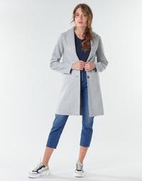 Odjeća Žene  Kaputi Only ONLCARRIE BONDED Siva