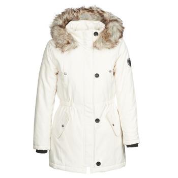 Odjeća Žene  Parke Only ONLIRIS Bijela