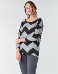 Odjeća Žene  Topovi i bluze Only ONLELCOS Siva / Crna