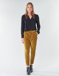 Odjeća Žene  Chino hlačei hlače mrkva kroja Only ONLPOPTRASH Camel
