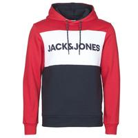 Odjeća Muškarci  Sportske majice Jack & Jones JJELOGO BLOCKING Red