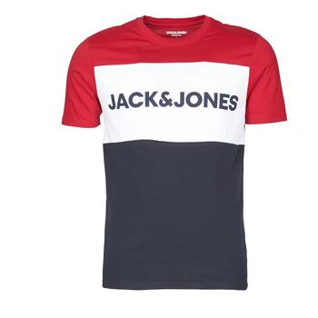 Odjeća Muškarci  Majice kratkih rukava Jack & Jones JJELOGO BLOCKING Red