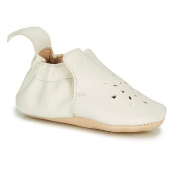 Obuća Djevojčica Papuče Easy Peasy BLUMOO PERFOS Bijela