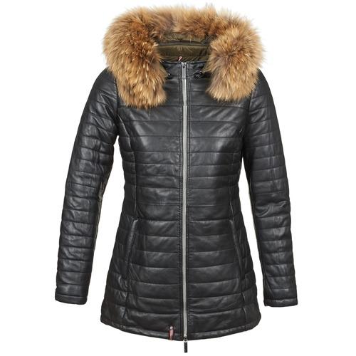 Odjeća Žene  Pernate jakne Oakwood 61679 Crna