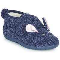 Obuća Djeca Papuče Little Mary LAPINVELCRO Blue