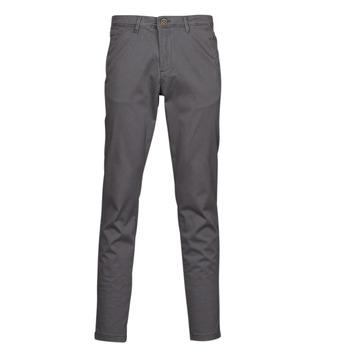 Odjeća Muškarci  Chino hlačei hlače mrkva kroja Jack & Jones JJIMARCO Siva