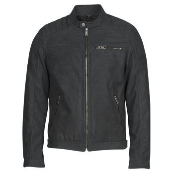 Odjeća Muškarci  Kožne i sintetičke jakne Jack & Jones JJEROCKY Crna