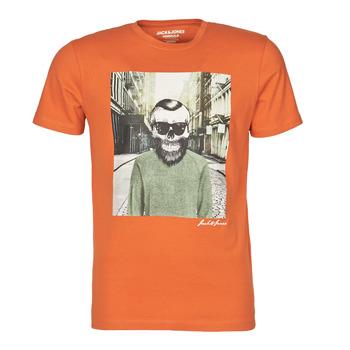 Odjeća Muškarci  Majice kratkih rukava Jack & Jones JORSKULLING Narančasta