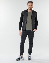 Odjeća Muškarci  Cargo hlače Jack & Jones JJIPAUL Crna
