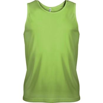 Odjeća Muškarci  Majice s naramenicama i majice bez rukava Proact Débardeur  Sport vert fluo