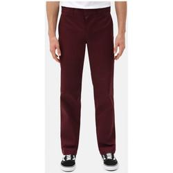 Odjeća Muškarci  Chino hlačei hlače mrkva kroja Dickies S/stght work pant Bordo