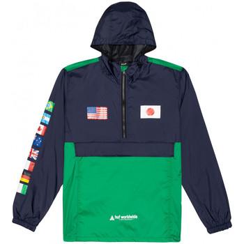 Odjeća Muškarci  Vjetrovke Huf Jacket flags anorak Blue