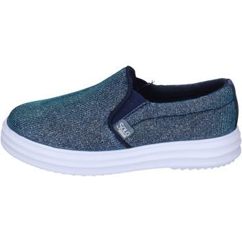 Obuća Djevojčica Slip-on cipele Solo Soprani slip on tessuto Blu