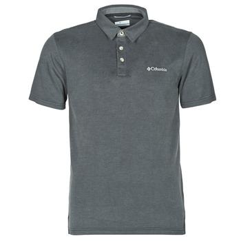 Odjeća Muškarci  Polo majice kratkih rukava Columbia NELSON POINT POLO Siva