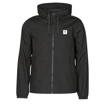 Odjeća Muškarci  Kratke jakne Element ALDER LIGHT Crna