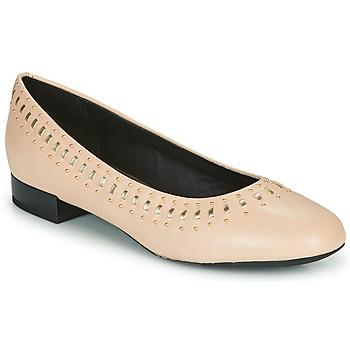 Obuća Žene  Balerinke i Mary Jane cipele Geox D WISTREY Ružičasta / Gold