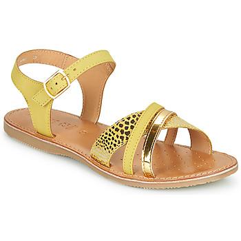 Obuća Djevojčica Sandale i polusandale Geox J SANDAL EOLIE GIRL Žuta / Gold