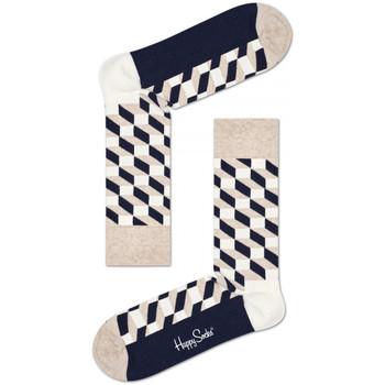 Modni dodaci Muškarci  Čarape Happy Socks Filled optic sock Multicolour