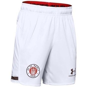 Odjeća Dječak  Bermude i kratke hlače Under Armour JR FC ST Pauli Replica Bijela
