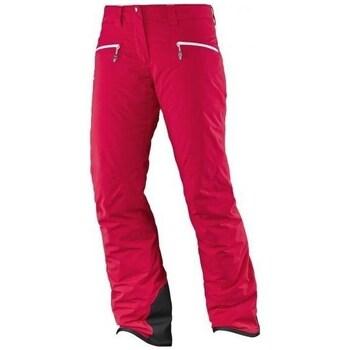 Odjeća Žene  Hlače Salomon Whitecliff Gtx W Red