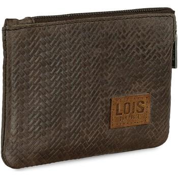 Torbe Muškarci  Novčanik za kovanice Lois DAVIDSON Muski kozni novcanik Brown