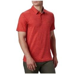 Odjeća Muškarci  Polo majice kratkih rukava Columbia Tech Trail Polo Shirt Red