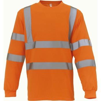 Odjeća Majice dugih rukava Yoko T-Shirt manches longues  Haute Visibilité orange