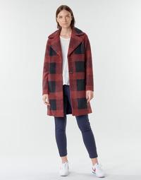 Odjeća Žene  Kaputi Only ONLVICKI Red / Crna
