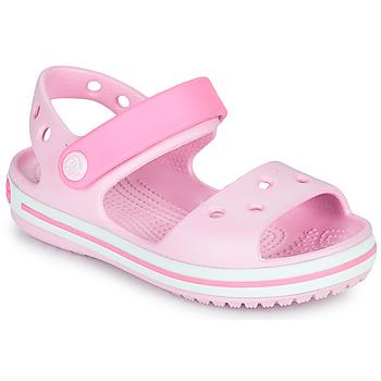Obuća Djevojčica Sandale i polusandale Crocs CROCBAND SANDAL KIDS Ružičasta