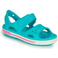 Obuća Djevojčica Sandale i polusandale Crocs CROCBAND II SANDAL PS Blue / Ružičasta