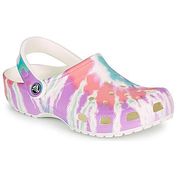 Obuća Žene  Klompe Crocs CLASSIC TIE DYE GRAPHIC CLOG Multicolour